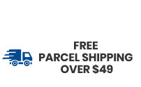 Free Parcel Shipping Over $49
