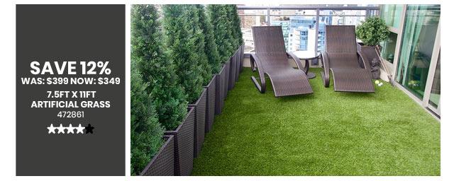 7.5ft x 11ft Artificial Grass