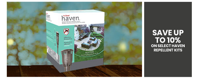 Save up to 10% on Select Haven Repellent Kits