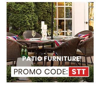 Patio Furniture Promo Code: STT