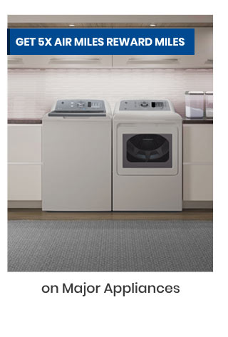 Get 5x Air Miles Reward Miles On Major Appliances